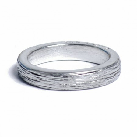 ladies 10 year anniversary tin ring