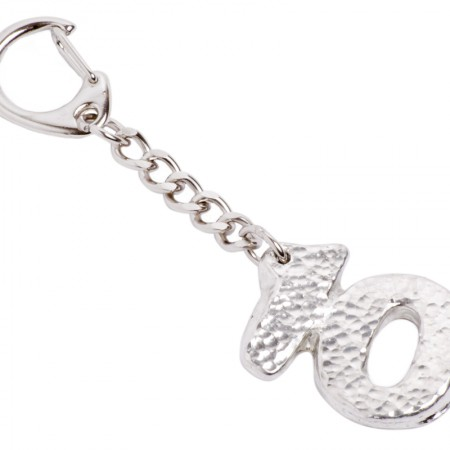 10th wedding anniversary 10 keyring