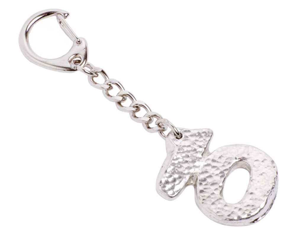 10th year anniversary tin keyring for 10th wedding anniversary jewellery